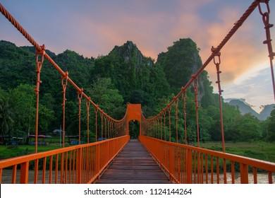VangViang Bridge,Lao VangVaing,VangViang