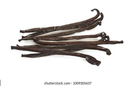 vanilla bean isolated