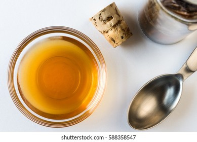 Vanilla Extract in an ingredient bowl