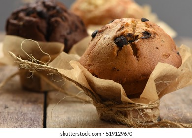 Vanilla Muffin with Chocolate Chips