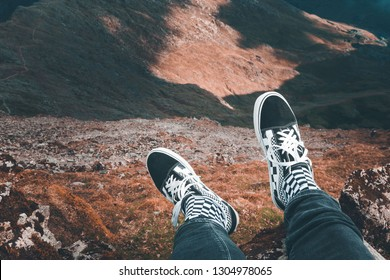 Vans Shoes in the Mountain
