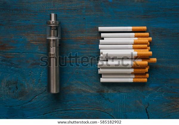 vape and cigarettes