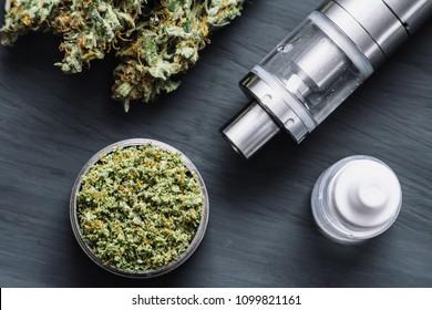 Vape Pen, Vaping Marijuana Oil,