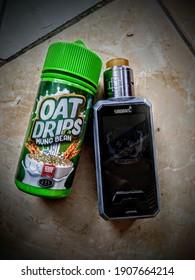 Vape Smoant, Rda druga, liquid OatDrip (Jakarta, Indonesia) 2 february 2021