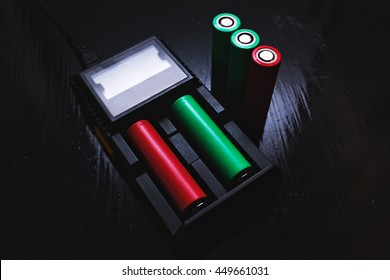 Vaping charger with 18650 battery