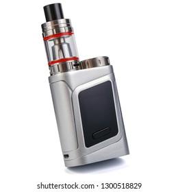 Vaping device, electronic cigarette, vape isolated on the white background