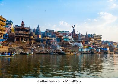 Varanasi - Ganges River India