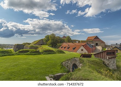 Varberg Fortress is a former fortification in Varberg, Halland County, Sweden.