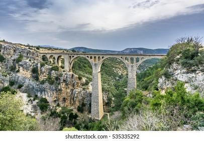 Varda Bridge in Adana. Last James Bond Movie filmed on this bridge.