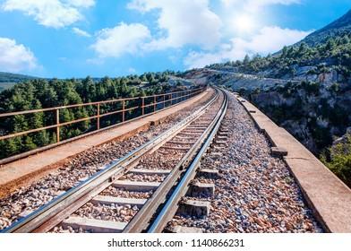 Varda Railway Bridge - Adana Turkey