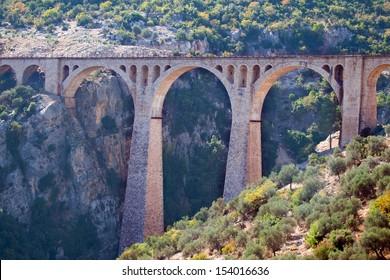 Varda railway bridge, This is the last James Bond (skyfall) movie was filmed on the bridge