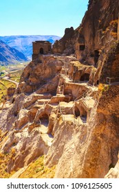 Vardzia cave monastery and ancient city in mountain rocks, Georgia