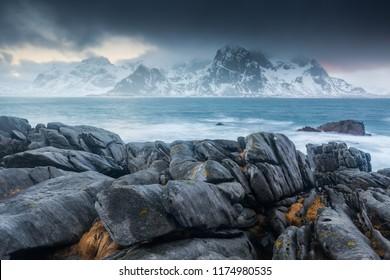 Vareid, Winter Lofoten