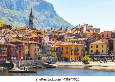 The Varenna on Lake Como in the Province of Lecco, Italy.
