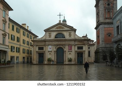 VARESE, ITALY - APRIL 2013; Center of Varese  city