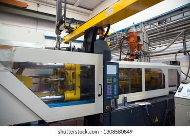 VARESE, ITALY - November 22, 2017 - Italian company specialized in design and manufacture of die casting for aluminium, zamak, magnesium and injection moulds for plastics. - CNC machines.