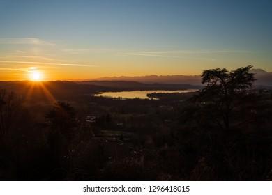 Varese Lake, Italy.