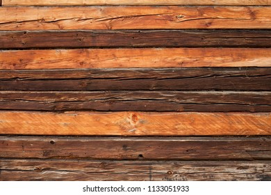 variable rustic wooden log wall background texture