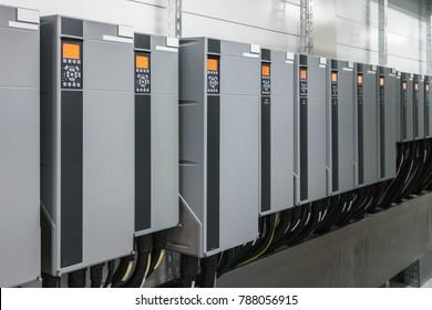 Variable speed drive inverter converters