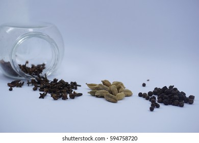 Varieties of Asian spices