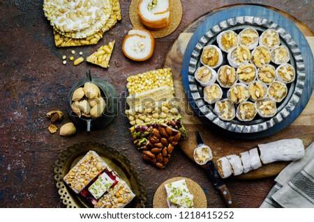 Varieties of traditional candies