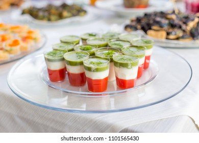variety Appetizers and finger food