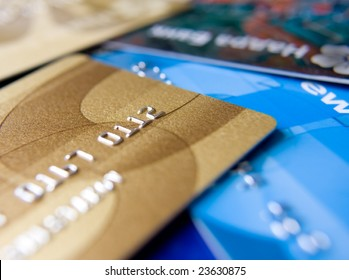 variety of credit cards