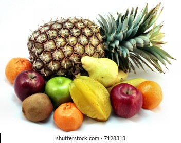 A variety of fresh fruits
