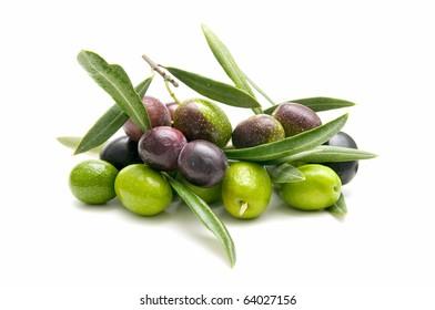 variety of fresh olives