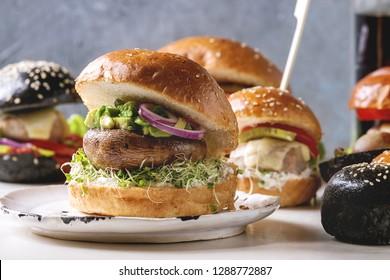 Portobello Burger Images Stock Photos Vectors Shutterstock