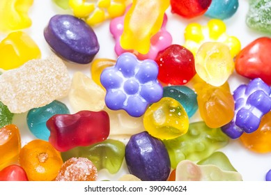 A variety of jelly