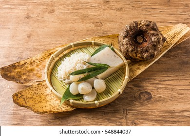 variety of Konjac(konnyaku)Famous Japanese diet food