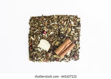 Variety of leaf herbal tea