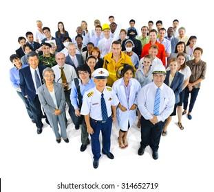 Variety Occupation Community Partnership Team Concept