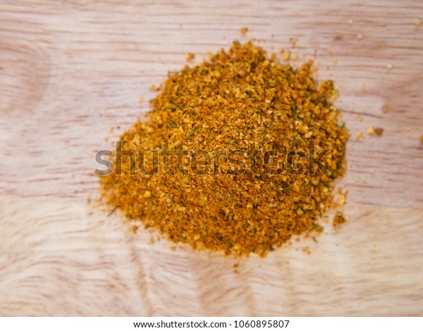 Variety of spices on table, curry and herbs. National eastern cuisine.
