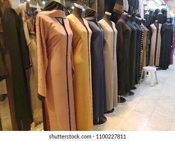 Various abaya in store