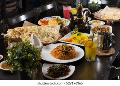 various arab foods
