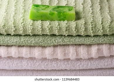 Various bath accessories