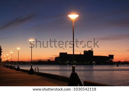 Various beautiful sunset scenes
