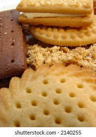 Various Biscuits, crumbs and crushed bits