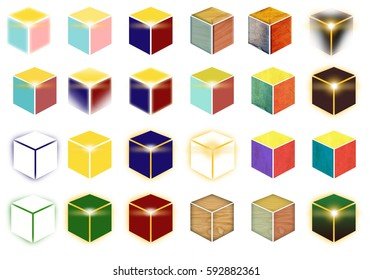 Various boxes