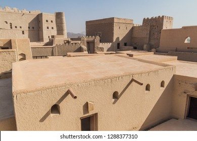Various buildings of Bahla Fort, Oman