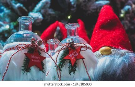 Various christmas decoration