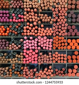 Various eyeliner eyebrow pencils color selection