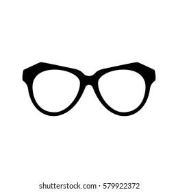 Various glasses. Stylish sunglasses for women, men and children. Eye glasses collection. Graphic illustration