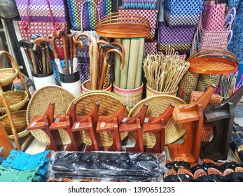 Various hand craft from Malaysia local people