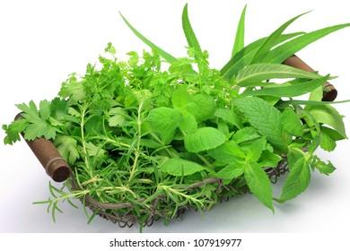 various herb