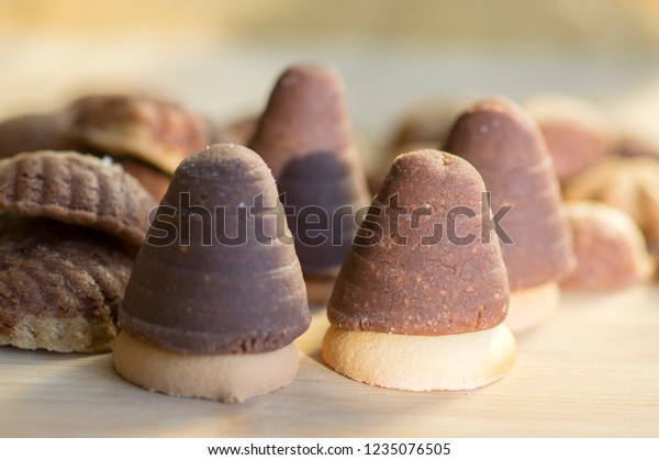 Various Kinds Christmas Cookies Cocoa Wasp Stock Photo Edit Now