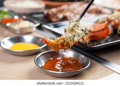 various lobsters food