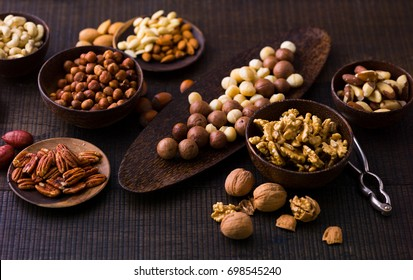 Various nuts and seeds